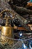 Bruit de la cloche à Noël photographie stock libre de droits