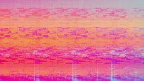 Bruit de neige de pixel de Digital d'écran de télévision image libre de droits