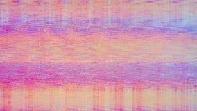 Bruit de neige de pixel de Digital d'écran de télévision images libres de droits