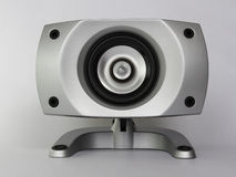 Bruit de sous-woofer de musique de haut-parleur Photo stock