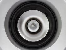Bruit de sous-woofer de musique de haut-parleur Image stock