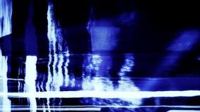 Bruit 0858 de TV banque de vidéos