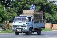 Bruit pour le transport du bois d'étape Images libres de droits