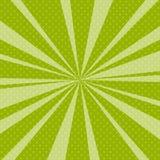 Bruit vert Art Retro Background avec des rayons de soleil Photo libre de droits