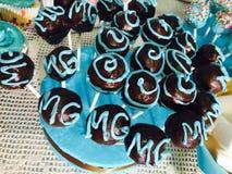 Bruits de fantaisie de gâteau Image libre de droits