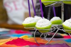 Bruits de gâteau de noix de coco Photo stock