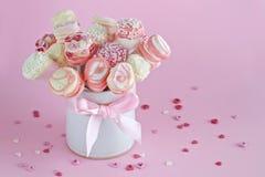 Bruits de guimauve de Valentines image stock