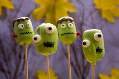 Bruits doux de gâteau de Halloween Image libre de droits