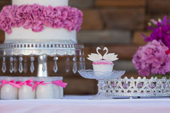 Bruits et petits gâteaux de gâteau Images libres de droits