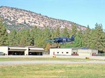 Bruja de Grumman F6F Imagenes de archivo