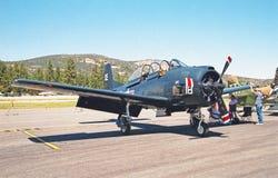 Bruja de Grumman F6F Foto de archivo libre de regalías