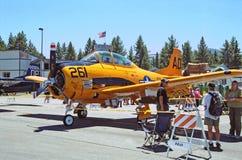 Bruja de Grumman F6F Fotografía de archivo libre de regalías