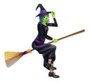 Bruja de Halloween libre illustration