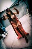 Bruja del escarlata de los tebeos de los vengadores y de X-Men, San Diego Comic Con Fotografía de archivo