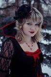 Bruja en el bosque Imagen de archivo