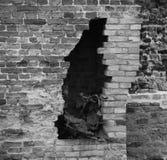 Bruja en la pared Foto de archivo