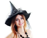 Bruja Halloween Imagenes de archivo