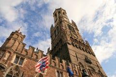 Brujas, Bélgica. Imagen de archivo libre de regalías