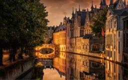 Brujas, Bélgica Fotos de archivo libres de regalías