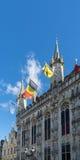 BRUJAS, BÉLGICA EUROPA - 25 DE SEPTIEMBRE: Palacio provincial en marzo Fotografía de archivo