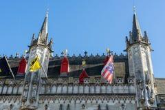 BRUJAS, BÉLGICA EUROPA - 25 DE SEPTIEMBRE: Palacio provincial en marzo Imagen de archivo libre de regalías