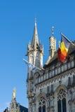 BRUJAS, BÉLGICA EUROPA - 25 DE SEPTIEMBRE: Palacio provincial en marzo Fotos de archivo