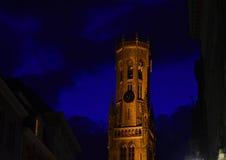 Brujas dell'en di Anochecer Fotografie Stock