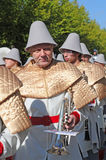 Brujas, el desfile del árbol de oro Foto de archivo