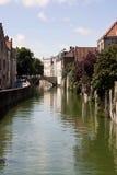 Brujas. el puente más viejo Imágenes de archivo libres de regalías