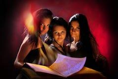 Brujas hermosas Fotos de archivo