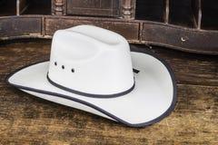 bruk för ritt för häst för cowboyhatt Royaltyfria Foton