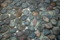 Bruk, piękni kamieni bloki, kamienni brukowi kamienie Zdjęcie Royalty Free
