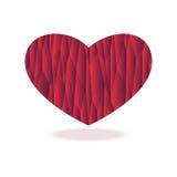 Bruk som hälsningkortet för valentindag Arkivfoton