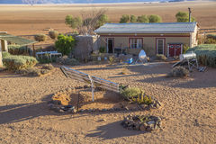 Bruka Gunsbewys och Tiras berg i sydliga Namibia Royaltyfri Fotografi