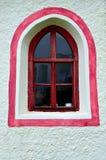 bruka korta söder för senales till tyrol det val fönstret Arkivfoton