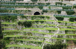 Bruka terrasser Arkivbilder