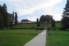 Brukenthal Castle in Avrig, Sibiu, Romania Stock Photos