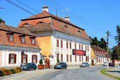 Brukenthal Palace in Avrig, Sibiu, Transylvania Royalty Free Stock Photo
