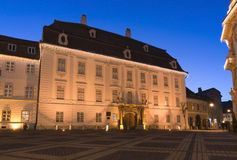 Brukenthal palace in Sibiu Royalty Free Stock Photo