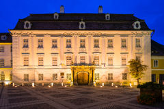 Brukenthal palace in sibiu, romania Royalty Free Stock Photo