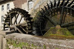 Bruket av vattenkraft i tidigare tider royaltyfria foton