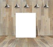 Brukowa drewniana podłoga na lasowych tło ilustracja wektor
