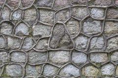 Brukowanie kamienna tekstura Obraz Royalty Free