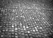 Brukowanie kamienna tekstura Zdjęcia Stock