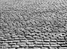 Brukowanie kamienna tekstura Zdjęcie Stock