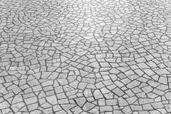 Brukowanie kamienna tekstura Obraz Stock