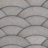 Brukowe cegiełki. Bezszwowa Tileable tekstura. ilustracji