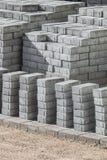 Brukowe cegiełki, kamieni bloki Zdjęcia Stock