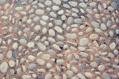 Brukowego kamienia tekstura tonująca zdjęcia royalty free