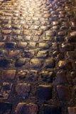 Brukowiec ulica Zdjęcie Stock